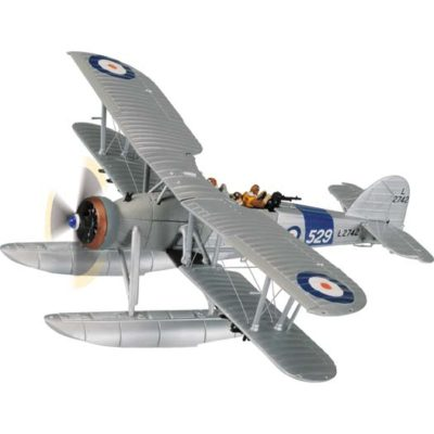 Corgi AA36310A Fairey Swordfish MkI, L2742, 81 NAS, HMS Courageous, 1937 (floats) 1