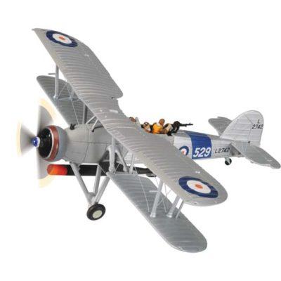 Corgi AA36310B Fairey Swordfish MkI, L2742, 810 NAS, HMS Courageous, 1937 (wheels) 1