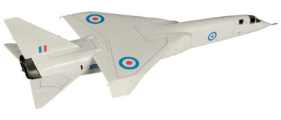 Corgi AA38602 TSR2, XR222, Imperial War Museum, Duxford, Cambridgeshire 1