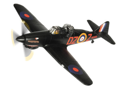 Corgi AA39302 Boulton Paul Defiant MkI - 151 Sqn Night Fighter DZ-Z, N3328 1