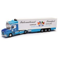 Corgi CC12825 Scania T Fridge Trailer - P&C Hamilton Transport - Girvan, Ayrshire 1