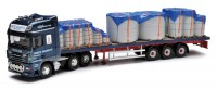 Corgi CC14112 DAF 105 Flatbed & Cement Block  Load - Keith Murray Transport - Dumfries 1