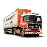 Corgi CC15502 Volvo F10 Tautliner Curtainside - Prestons of Potto 1