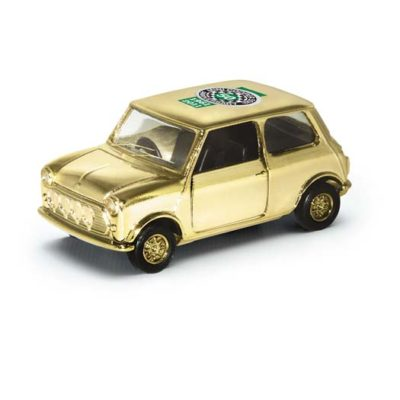 Corgi CC82290 Gold Plated Mini Cooper 1