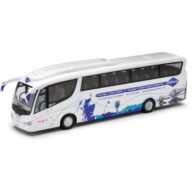 Corgi OM46212 Scania Irizar PB - Grayline - Edinburgh Coachlines - Loch Ness and St Andrews Tour Bus 1