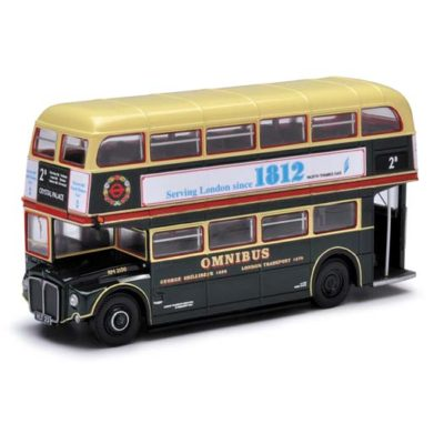 Corgi OM46305A Routemaster - Shillibeer Omnibus - 2b Crystal Palace Dual Destination 1