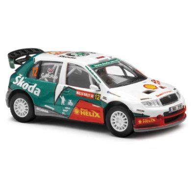 Corgi VA99902 Skoda Fabia Turbo, World Rally Championship, Wales Rally of Great Britain, 2005 1