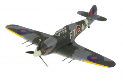 Corgi AA39702A Hawker Hurricane Mk. IIc - BN230, FT-A, 43 Sqn RAF, Sqn Ldr D
