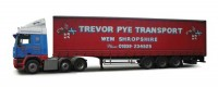 Corgi CC15402 (Pre-Order)DAF 95 Curtainside - Trevor Pye Transport - Wem, Shropshire 1