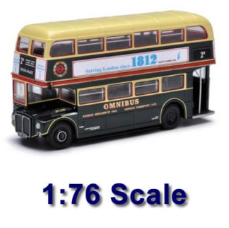 1:76 Scale Model Buses